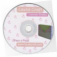 CD Laura Craft Costurero Shabby